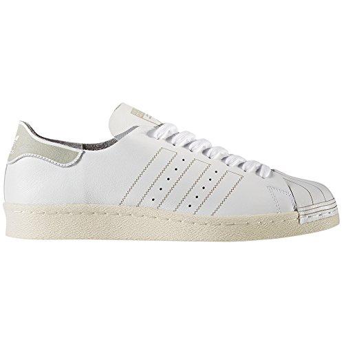 "adidas Originals Superstar 80"" Sneakers da Uomo in Pelle Bianca White/Vintage White"