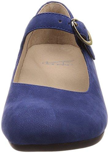 womens Blue Linette Dansko Nubuck Milled 6wOdS6q