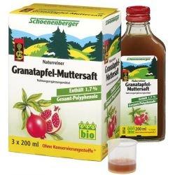 GRANATAPFEL MUTTERSAFT Schoenenberger Heilpfl.S. 600 ml Saft
