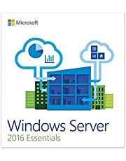 OEM Windows Server 2016 Essential 64-Bit 1 Server, 2 CPU DVD 1 Pack|Essential|1|9 Years|Windows|Disc
