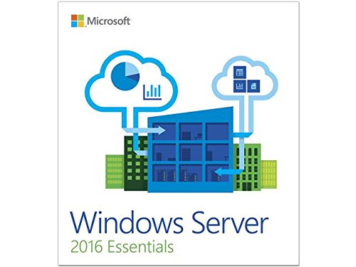 Microsoft Win Svr Essentials 2016 64 Bit English 1 Pack DSP OEI DVD 1-2 CPU Database by Microsoft