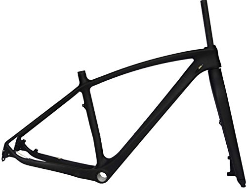 Full Carbon UD Matt 29er Mountain Bike MTB Cycling BSA Frame And Fork 19'' by x-goods