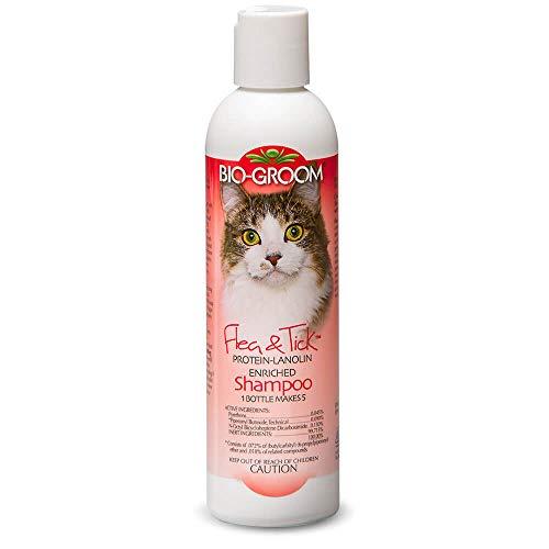(Bio-groom Cat Flea and Tick Conditioning Shampoo, 8-Ounce)