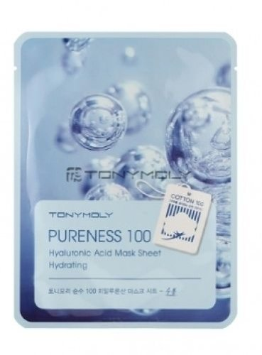 Tonymoly Pureness 100 Mask Sheet (10-Piece Hyaluronic Acid Mask)