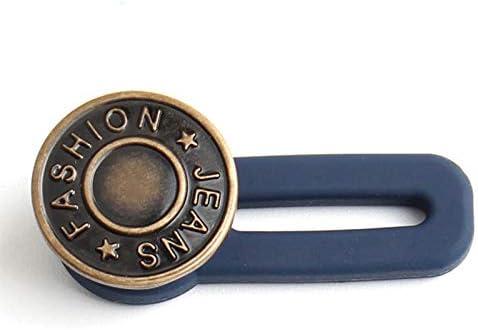 Estensori per pantaloni aggiunge 1-2 cm bottoni retrattili per uomini e donne 1 regolabile staccabile pulsante estendibile per jeans riutilizzabili 3 pz