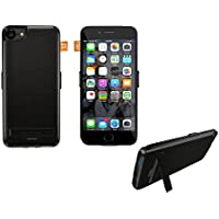 Tzomsze iPhone 7 Battery Case 5500mAh as Cell Phone Stand Magnetic Car Mount Holder for iPhone 7 66s