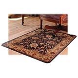 Deflect-o Rectangular Chair Mat, Hard Floor, 46 by 60-Inch, Multi