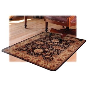 Deflect-o Rectangular Chair Mat, Hard Floor, 46 by 60-Inch, Multi by Deflect-O