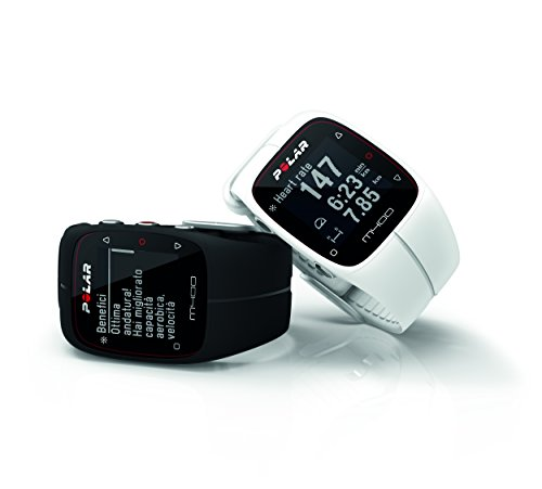 Polar 90051339 M400 GPS Watch with Heart Rate Black