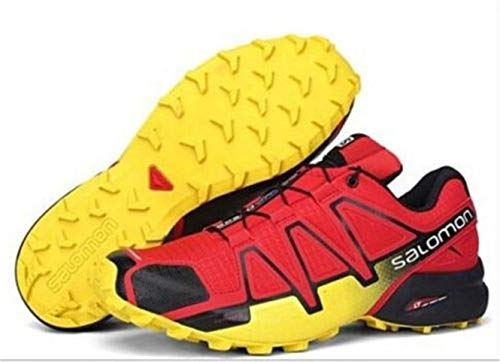 Yellow 4 Trail Speedcross Uomo Da Scarpe Salomon Red Running w0xp5FgqAq