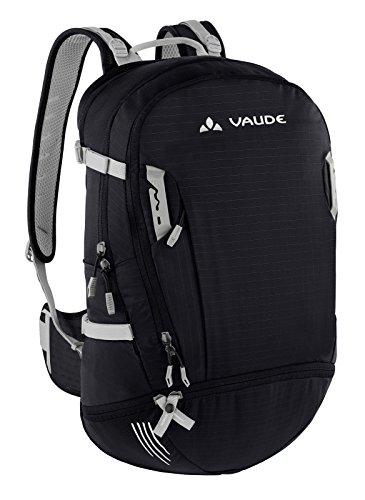 (VAUDE Bike Alpine 25+5 Backpack, Black/Dove)