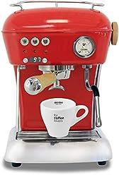 Ascaso Dream Up V3 Love Red PID Wood Handle Semi-Automatic Espresso Machine - w