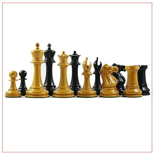 Ebonized Chess (Jaques Reproduction Wilhelm Stenitz Staunton 3.75
