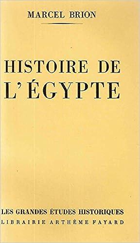 Lire un Histoire de l'egypte epub, pdf