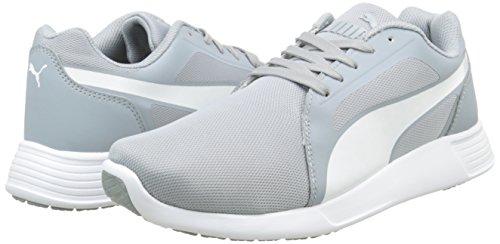 Erwachsene Trainer UK Grau Puma Evo Erwachsene quarry Sneakers 45 EU 03 10 white ST 5 Unisex wCqCR6