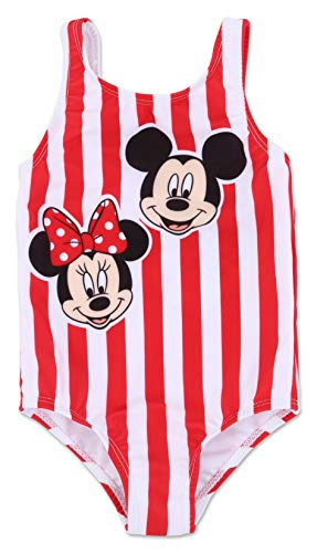 Toddler Girl Mickey and Minnie Mouse One Piece Swimsuit 2T]()