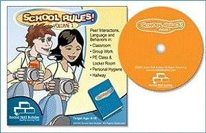 School Rules! CD-ROM Vol 1 Middle - High School Social Skills, Life Skills Ages 8-18