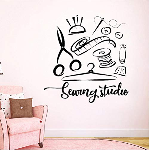 wsydd Sticker Atelier Home Decor Vinyl Wall Decals Handmade Tailor Window Decoration Removable Stickers -