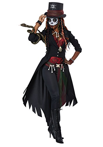 California Costumes Women's Voodoo Magic Adult Costume, Multi, Extra Small -