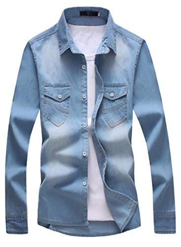 Xl Button Front Shirt - 6