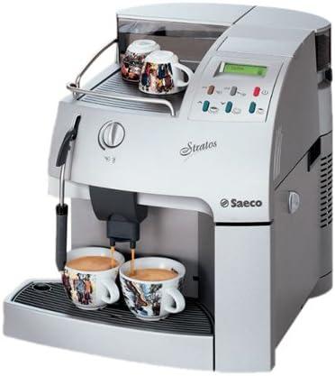 Saeco Stratos Cafetera expreso de plata mate: Amazon.es: Hogar