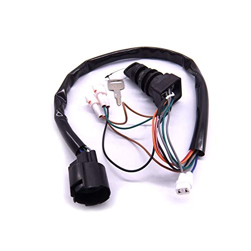 SouthMarine 37110-93J00 37110-93J01 Boat Motor Ignition Switch Assembly for Suzuki Outboard Motor