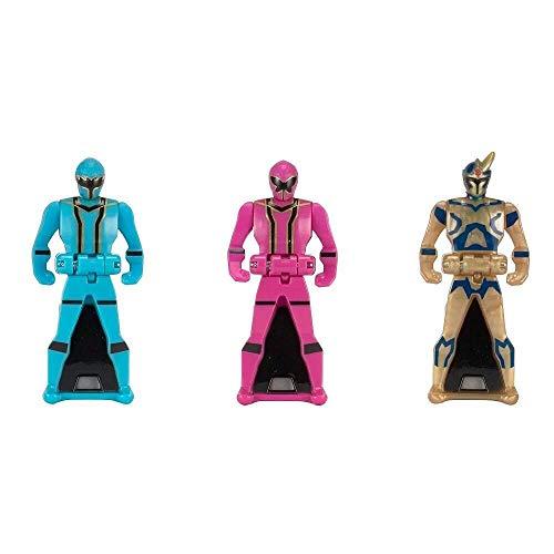 Power Rangers Key Pack Mystic Force Set C Pink Blue -