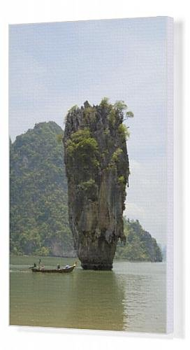 Canvas Artwork of View of Koh Ping-gan from Koh Ta Poo