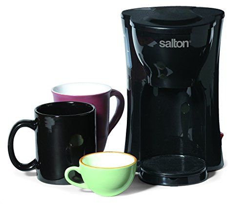 One Cup Coffee Maker Without Plastic : Salton FC1205 1-Cup Coffee Maker, Black New eBay