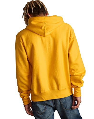 CHAMPION Reverse Weave Sublimated Big C Chenille Logo Pullover Hoodie Sweatshirt