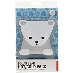 Kikkerland Hot and Cold Pack, Polar Bear