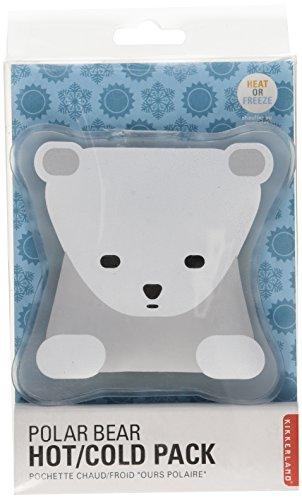 Flexible Bear - Kikkerland Hot and Cold Pack, Polar Bear