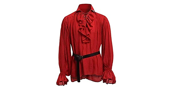 Camisa de manga larga para hombre, diseño de renacimiento ...