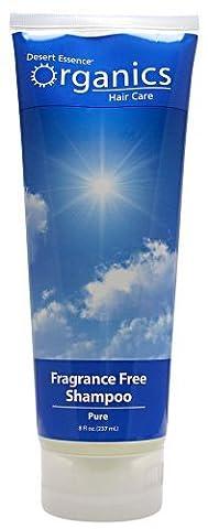 Desert Essence Organic Pure Shampoo Fragrance Free -- 8 fl oz by Desert Essence BEAUTY (Desert Pure Yucca)
