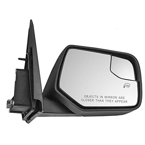 Passengers Power Side View Mirror Heated Spotter Glass Replacement for Ford Escape Mercury Mariner & Hybrid AL8Z17682DAPTM