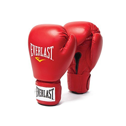 Everlast Amateur Competition Fight Gloves - 10oz - Red by Everlast