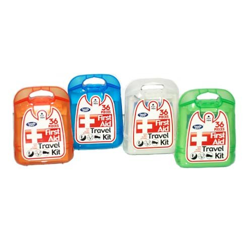 First Aid Travel Kit 36Pcs, Case of 48