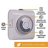 GE 24-Hour Heavy Duty Indoor Plug-in Mechanical