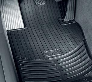 BMW X5 E70 Genuine Factory OEM 82550417964 All Season Front Floor Mats Black 2007 - 2012 (set of 2 front mats) Oem Parts Bmw