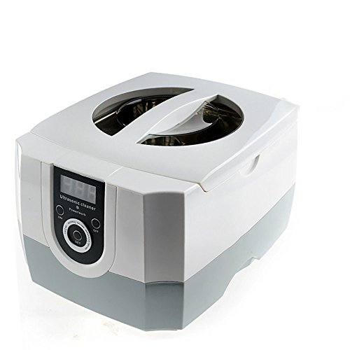 AZDENT 1 3L Dental Ultrasonic Cleaner with Digital Timer for Denture  Glasses Jewelry (Removable Tank)