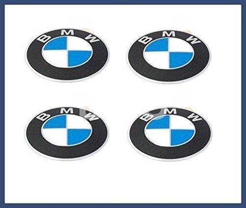 Genuine Bmw Center (BMW Genuine Wheel Center Cap Emblems Decals Stickers 45mm)