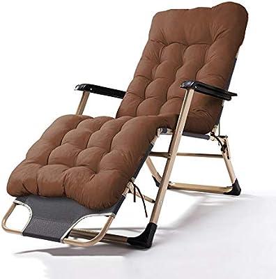Amazon.com: Lounge Chairs ZHIRONG Folding Sun Loungers ...