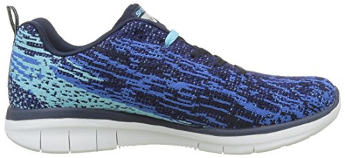 Femme blue Bleu Spirits Synergy Skechers high navy 0 Baskets 2 zwH4z1BYq