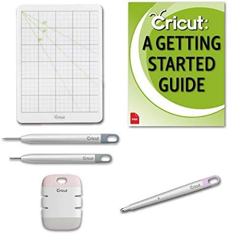 Cricut Paper Crafting Tools Set Quilling Edge Distresser Craft Mat 4//Pkg