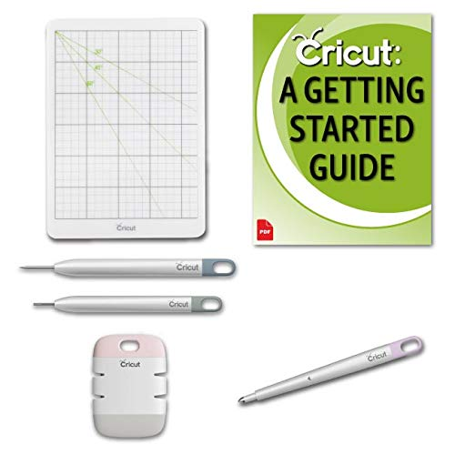 Cricut Scoring Stylus and Essential Paper Crafting Tool Kit Bundle