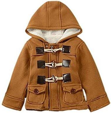 Eshoono unisexe bébé polaire veste à capuche vêtements dextérieur Duffle Zipper manteau dhiver
