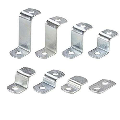 50 x Zinc Plated Steel Flat Canvas Offsets Falcon Workshop Supplies Ltd
