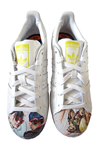 White adidas People Hombre Supershell Zapatillas S83363 Pharrell Supershell Superstar para qFw7TB
