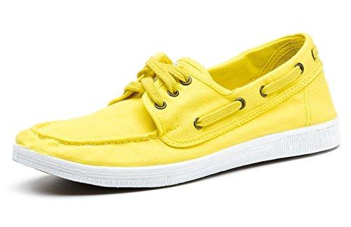 Tennis – Chaussures Femmes – à Natural Tissu pour Chaussures NOUVEAUTÉ en World Mode – 504 Tendance Eco Vegan Lacets xfZI6qg