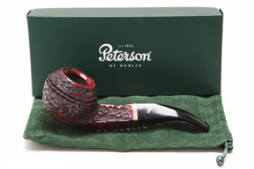Peterson Kinsale XL15 Rustic Tobacco Pipe Fishtail by Peterson